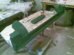 Front dashboard mould